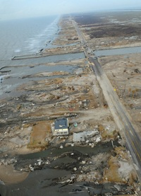 FEMA - 38897 - Aerial View of one of the few houses left in Gilchrist.jpg